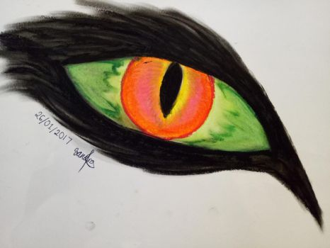 Supernatural Eye by ViserionRogue