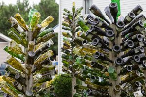 Stockton Bottle Trees by lupiniastudios