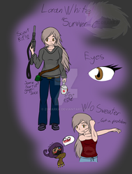 Loran White (Surviver-C) Ref by Zorarka