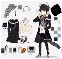 [AUCTION*CLOSED]Lineheart*3 by Relxion-kun