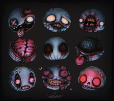 FACES OF DEATH by WORMBOYx