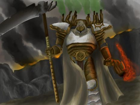 Mortarion: The Death Lord by Orangebandguy