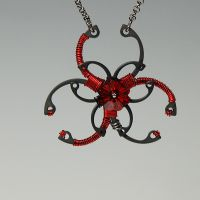 Biohazard Red v3- SOLD by YouniquelyChic