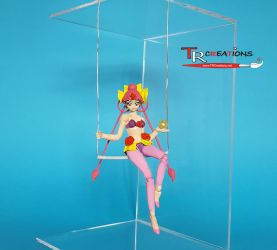 Sailor Moon Figuarts - CeleCele (WIP) by zelu1984