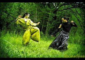Lexmachine and LastWear Hakama by LanaMarieLive