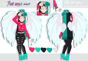 [ Punk Angel Adopt ] [CLOSED] by hello-planet-chan