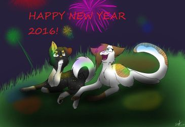 new year 2016 by lovebloody