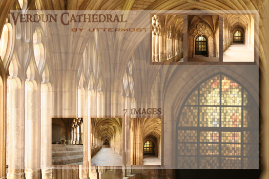 France: Verdun Cathedral Pack by Uttermost