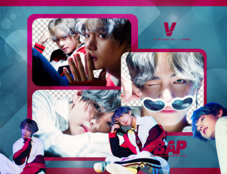 Pack Png 727 // V (BTS) by BEAPANDA