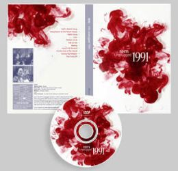 REM Unplugged 1991 DVD by Sibko