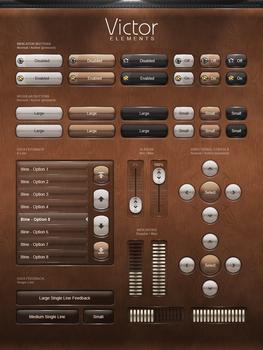 GUIFX Elements Pack 'Victor' by PureAV