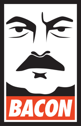 Ron Swanson Likes Bacon by optimiss