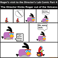 Roger's visit to the Director's Lab Comic Part 4 by Mario1998
