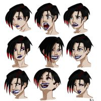 Jae- Expressions Sheet by EggplantWizard