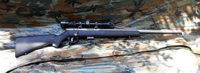 My Savage 93 XP Bolt Action .22 WMR by HectorDefendi-Light