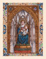 Our Lady of Walsingham by Theophilia