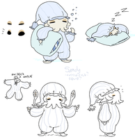 pyjama squid concept by Spoonfayse