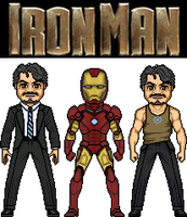IronMan by MicroManED