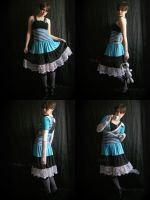 Alice In Ashland -Dress, Shrug by ash-bunny