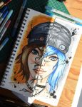 Shattered (Chloe Price Life is Strange fanart) by Anspire
