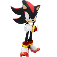 Sonic X Shadow Pose by JaysonJeanChannel