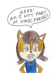 Sally Acorn - Am I not part of Sonic Forces? by dth1971