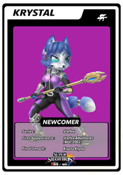 Krystal Smash Card by birdman91
