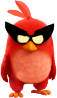 The Angry Birds Space Movie - Super Red by DarkdowKnight