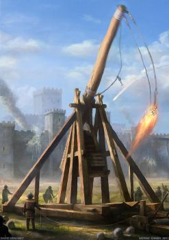 TREBUCHET by moonxels