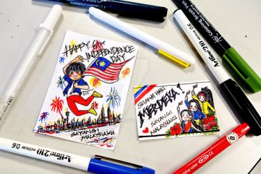Malaysia 61st independence day by BukkaVYi