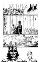 STAR WARS: DARK TIMES FIRE Page 06 lineart by gabrielguzman