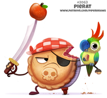 Daily Paint 2063# Pierat by Cryptid-Creations