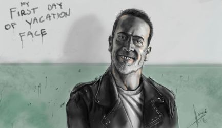 Negan by HrvojeSilic