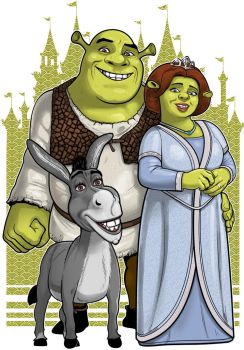 Shrek Commission by Thuddleston