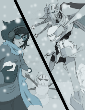 Snowball DUEL by theREDspy