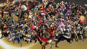 Samurai Warriors 4 Roster by The4thSnake