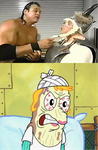 Gimmick makes Mrs Puff Cross by EarWaxKid