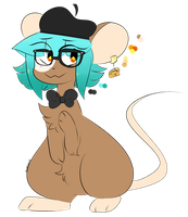 BBY MOUSE REF by dandeIions