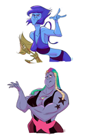 No wonder why Lapis is upset the whole time by SLB-CreationS