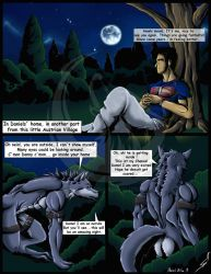 Muscles,Fangs and Claws P13 WerewolfTransformation by DSA09