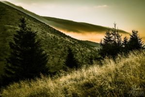 Cloudy Slope by GHPArt