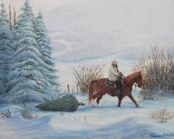 High res man on horse by ArT-Walker