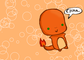 Charmander Chibi by Kat-The-Piplup