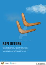 English PSA print ads for missing aircraft MH370 by stopidd