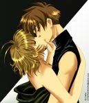 Another Kiss: Syaoran Sakura by barbypornea