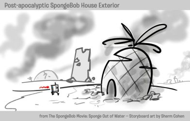 SpongeBob's House -- Post-Apocalypse by shermcohen