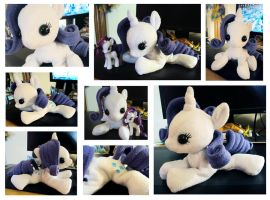 Rarity Beanie Baby Plushie by ButtercupBabyPPG