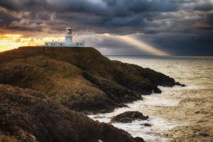 Strumble Head Lighthouse by CharmingPhotography