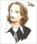 Sketch: Thewlis as John by yukipon