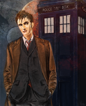 The Tenth Doctor by Vizen